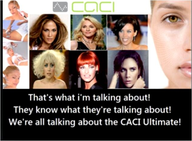 Caci ultimate luxurious nonsurgical facelift energy towards the