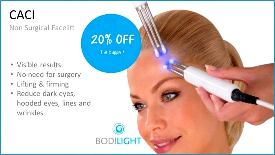 Facial microdermabrasion and caci nonsurgical facelift is almost