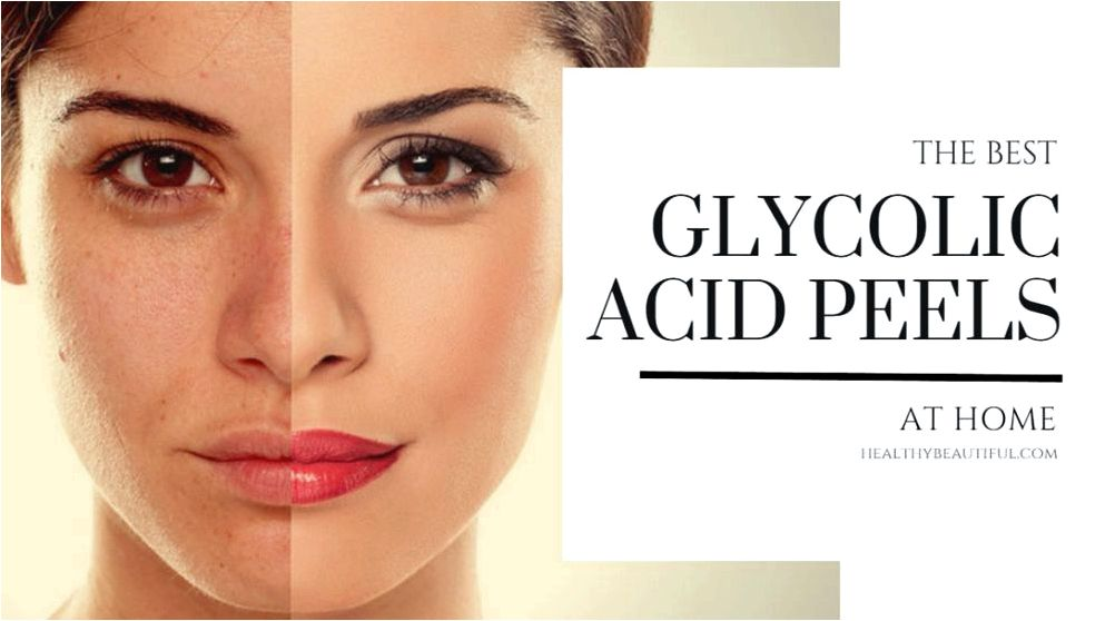 Glycolic acidity peels Glycolic acidity could make the