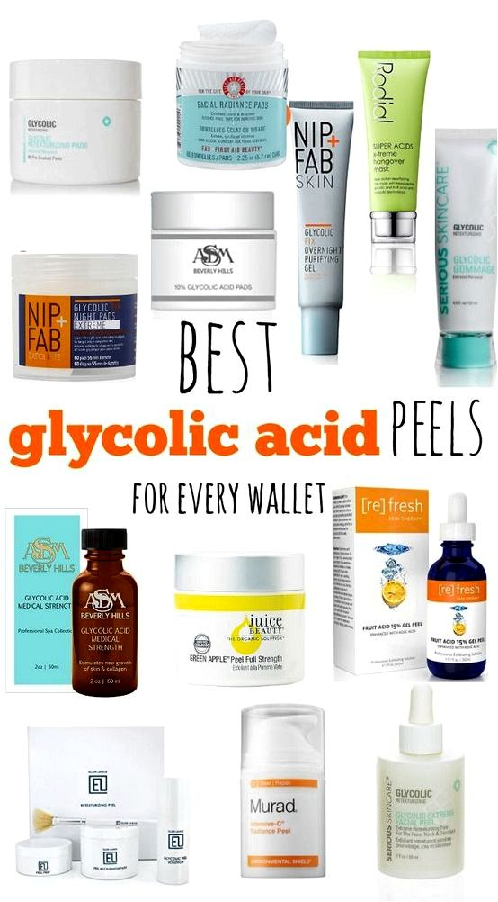 Glycolic acidity peels plastic surgery