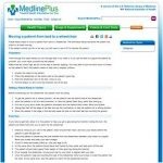 Hyperhidrosis medlineplus medical encyclopedia