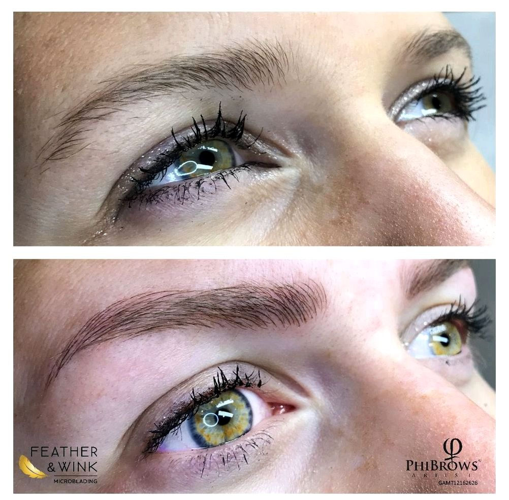 Microblading versus permanent makeup by beauty expert nikol manley You is after your eyebrows