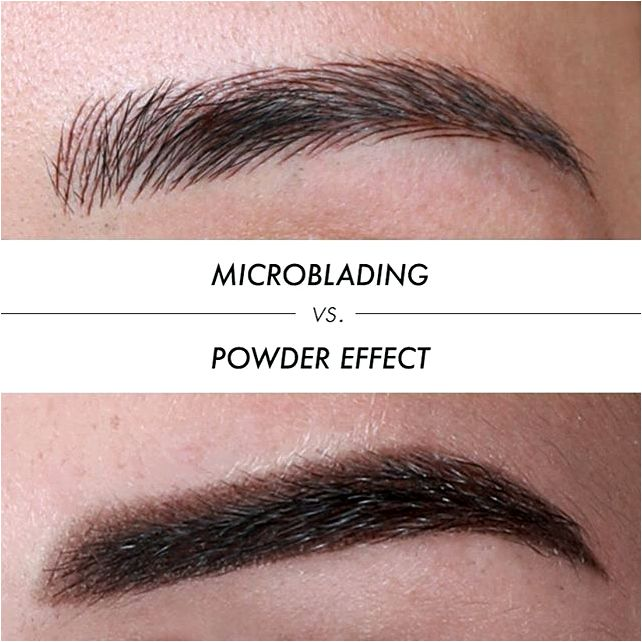 Microblading versus permanent makeup — what's the main difference? long time