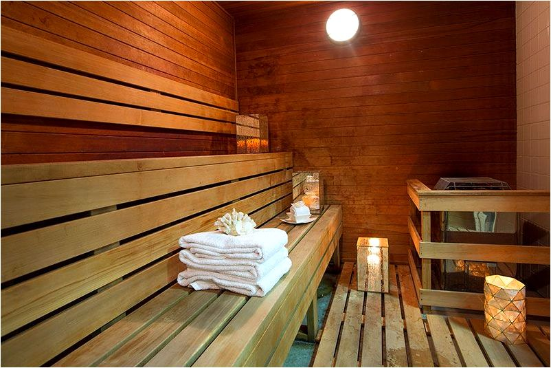 Sauna / massage The Entire Renovation