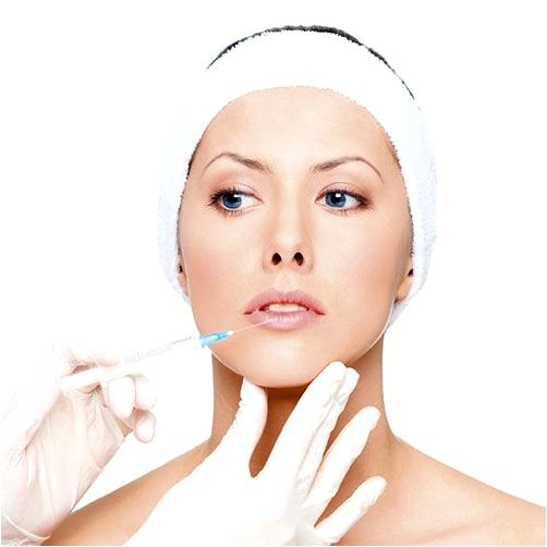 Wrinkle relaxing injections within the skin developing